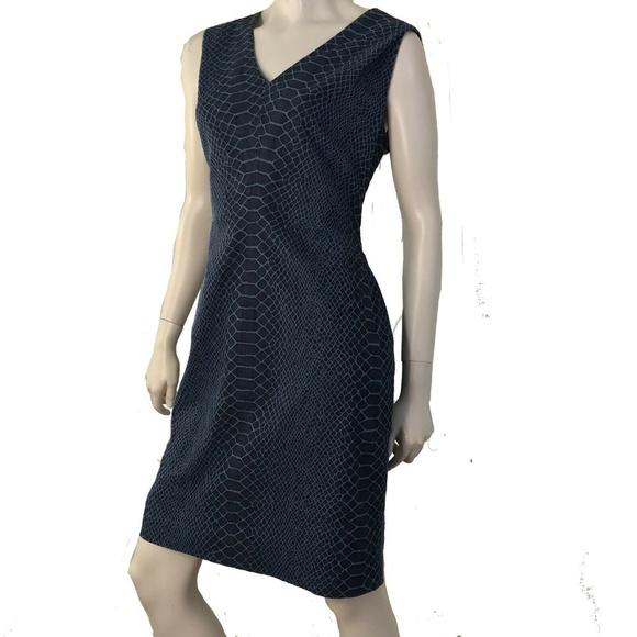 Tommy Hilfiger Dresses & Skirts - Tommy Hilfiger Dress Denim Snakeskin Sheath